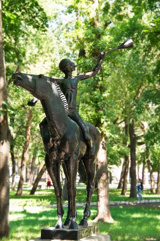 памятник орленку воронеж