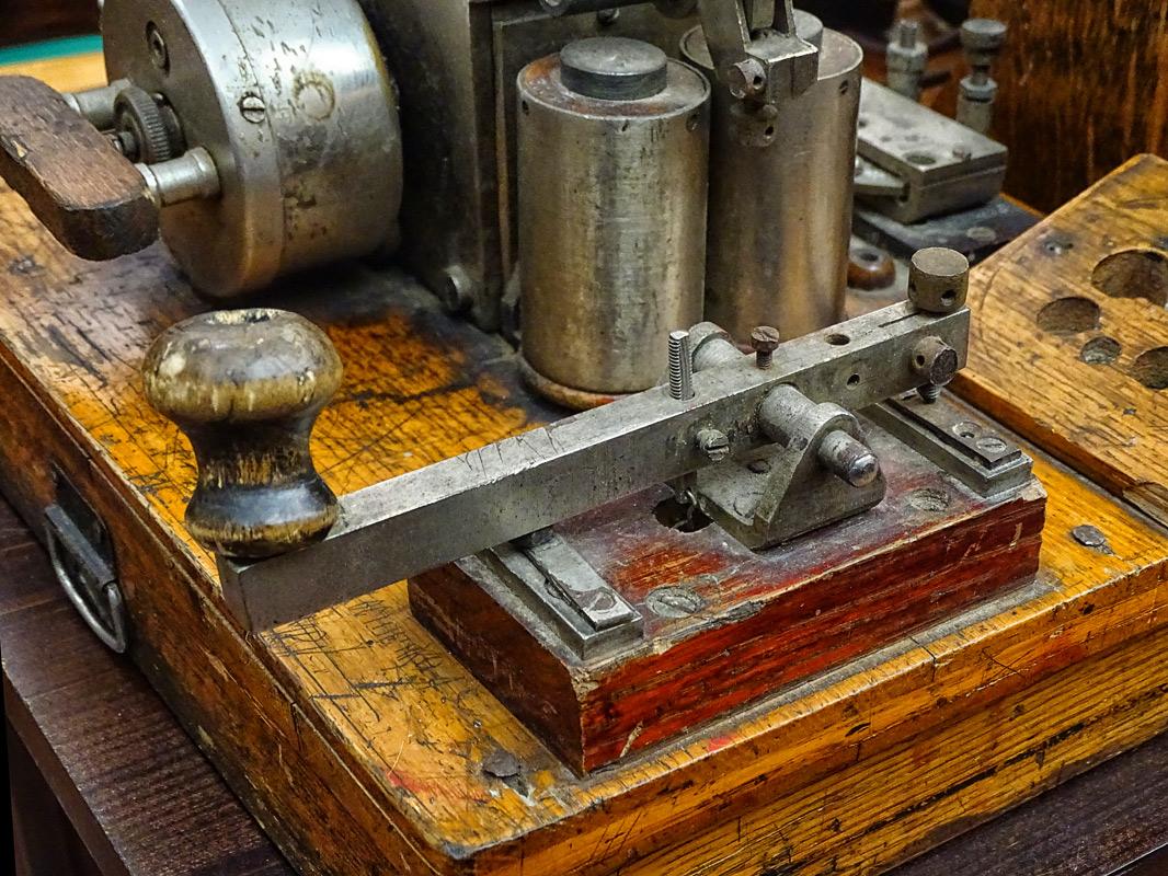 Телеграфный аппарат. Россия, конец 19- начало 20 века.